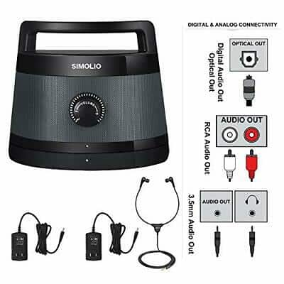 SIMOLIO SM-621D Digital Assisted Hearing Amplifier