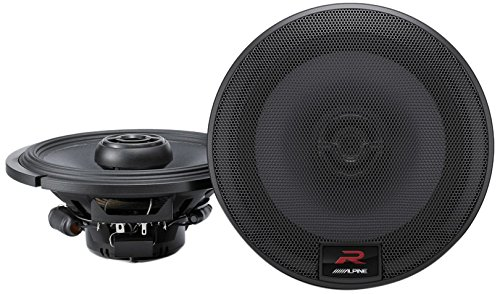 Alpine Coaxial RS 6.5 Component Speakers